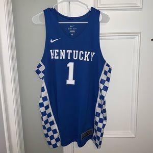 Kentucky Nike Devin Booker Nameless Jersey
